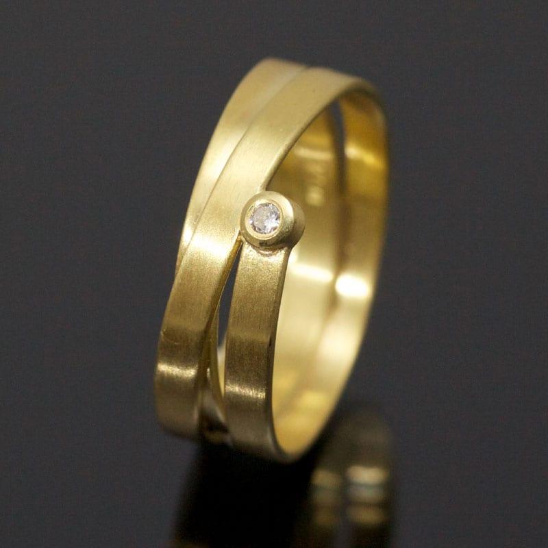Ring Gold Brillant